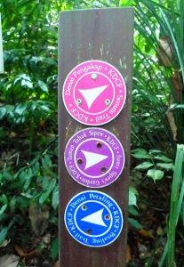 web trail marker 3
