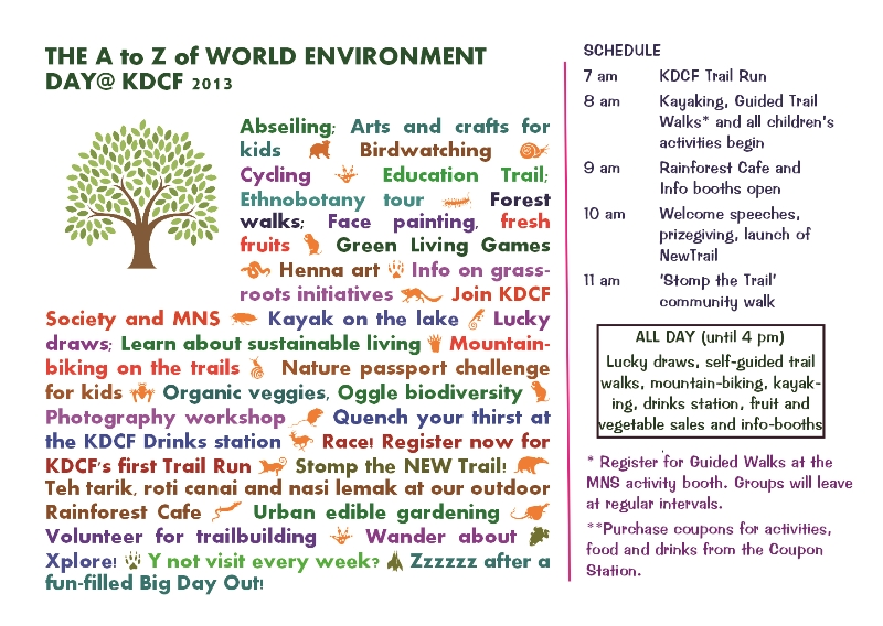 WED 2013 A to Z 800 Think. Eat. Save. World Environment Day @ KDCF